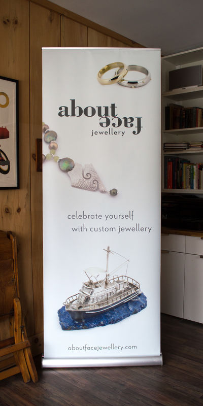 About Face Jewellery image - Show Display Banner: 80 x 210 cm