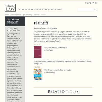 Irwin Law image -Irwin Law image